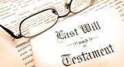 Cómo se escribe un testamento para que tenga validez legal